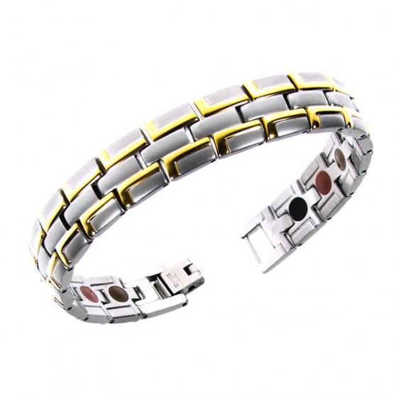 Magnetarmbånd (stål) Livets byggesten