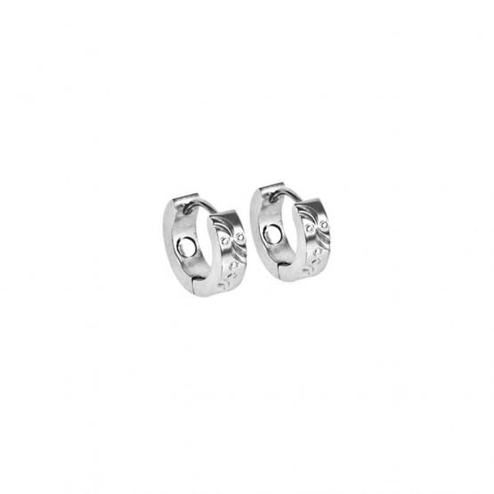 Magnet øreringe (stål)
