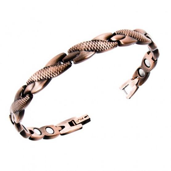 Magnetarmbånd (stål) Slangen i Paradiset