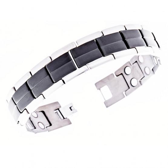 Magnetarmbånd (titanium) Livstykket