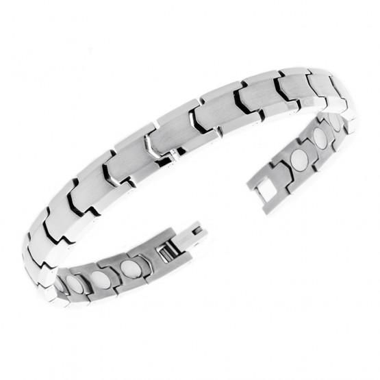 Magnetarmbånd (titanium) Det Bevidste Valg