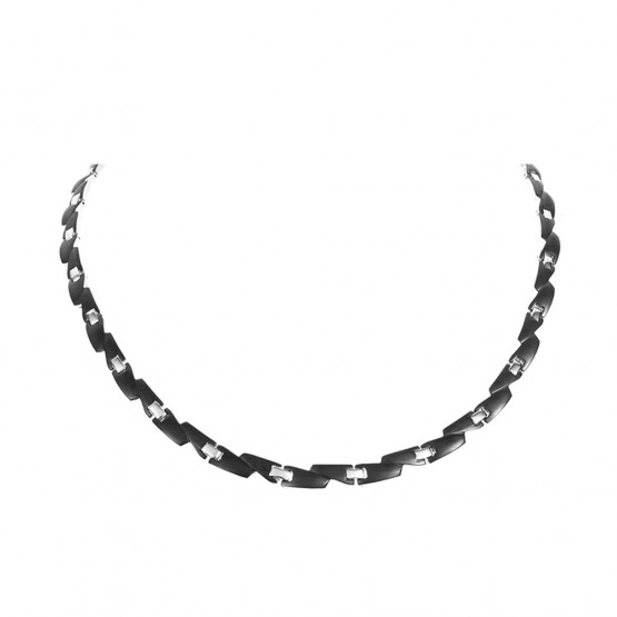 Magnethalskæde (stål) Cassiopeia