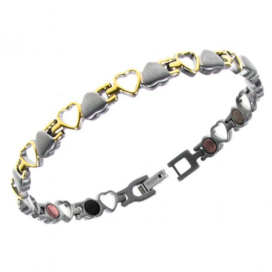 Magnetarmbånd (titanium) Den store Kærlighed
