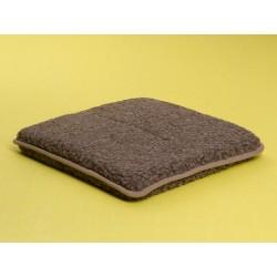 Magnet hynde (Merino brun) 40 x 40 cm