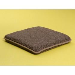 Hynde (Merino brun) 40 x 40 cm