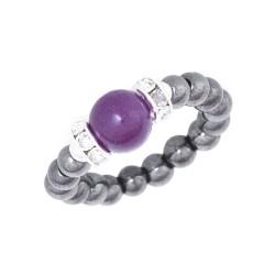 Magnet ring (hæmatit)