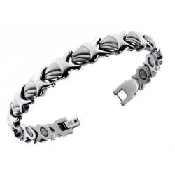 Magnetarmbånd (stål) Livets Skønhed
