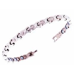 Magnetarmbånd (stål) Ønskekæden