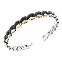 Magnetarmbånd (stål) Elegance