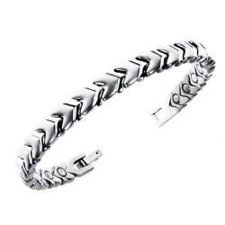 Magnetarmbånd (stål) Det evige liv