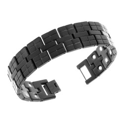 Magnetarmbånd (titanium) Kong Drosselskæg