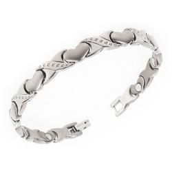 Magnetarmbånd (titanium) Kærlighedens Bånd