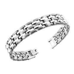 Magnetarmbånd (titanium) Tidernes Strøm