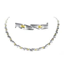 Magnethalskæde (titanium) Cassiopeia