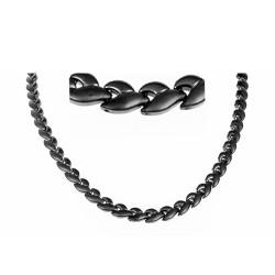 Magnethalskæde (stål) Elegance