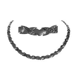 Magnethalskæde (stål) Kærlighedens Bånd