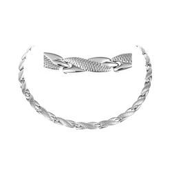 Magnethalskæde (stål) Slangen i Paradiset